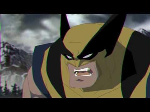 Hulk vs Wolverine Animated Clip