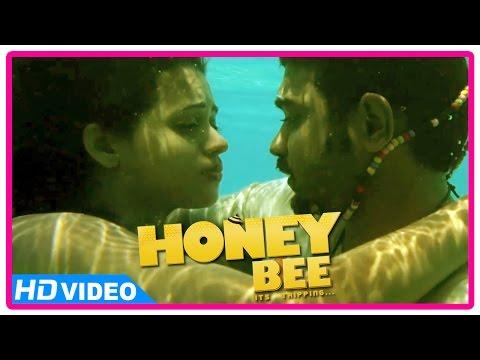 Honey Bee Malayalam Movie |  Scenes | Asif Ali and Bhavana Drown in Sea | Lal | Sreenath Bhasi