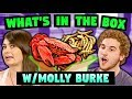WHAT'S IN THE BOX W/ MOLLY BURKE (Crabs, Worms & More!)