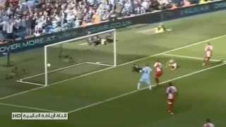 هدف أغويرو يحسم الدوري الإنجليزي بتعليق فارس عوض