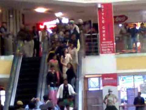 Anushka in Omaxe Mall Patiala