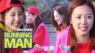 Chorong & Namjoo Don't Even Know The Rules.. [Running Man Ep 459]