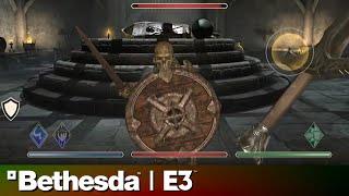 The Elders Scrolls: Blades E3 2018 Gameplay Demo | Bethesda Press Conference