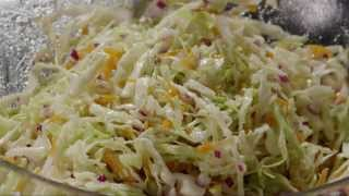 How to Make Cabbage Coleslaw | Salad Recipe | AllRecipes