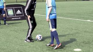 How to shield the ball like Philipp Lahm | Soccer drill