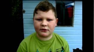 Finley sings Lego House.wmv
