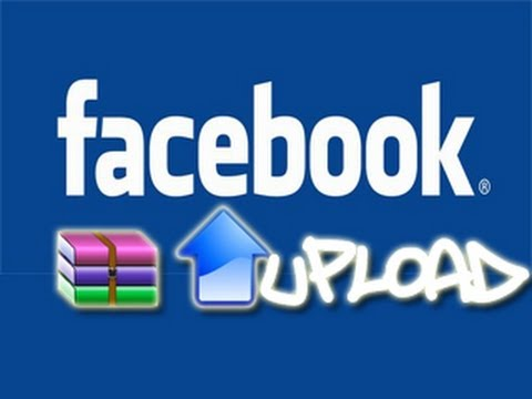 como subir un archivo win rar a facebook