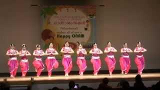 Opening Dance Nihon Kairali Onam 2014
