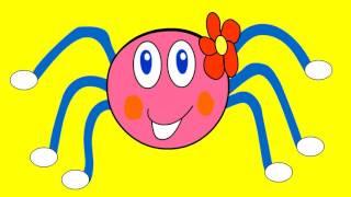 Incy Wincy Spider - nursery rhyme, children song