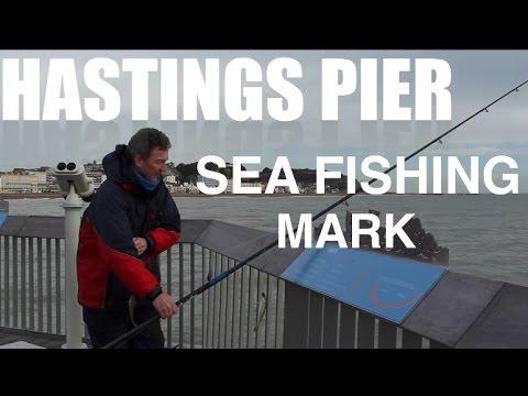Hastings Pier Sea fishing mark