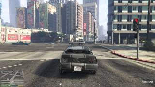 GTA 5 PS4 gameplay HD Just a normal chase with the police