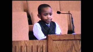 A 5yr Old's Sermon about Job- Samuel M. Green HD