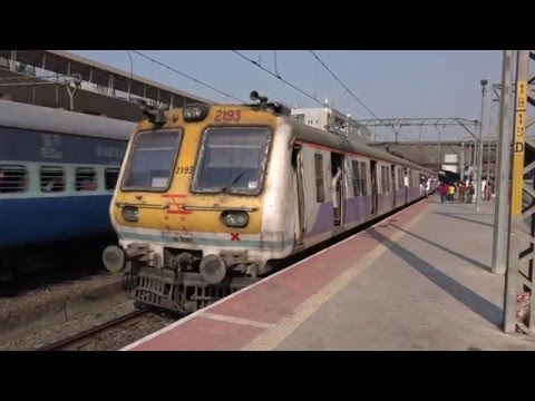 BULLET TRAIN ?  Unbelievable Take Off & Out Of The World Acceleration by 15 Car Mumbai Local Train