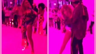 Beyonce Grinds Jay Z At Soul Train Birthday Party