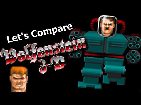 Let's Compare ( Wolfenstein 3D )