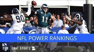NFL Power Rankings: 2018 Preseason Edition