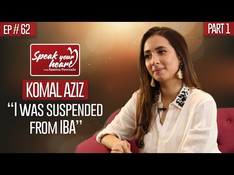 Xxx Mp4 Komal Aziz Khan On How IBA Changed Her Life Speak Your Heart With Samina Peerzada Part I 3gp Sex