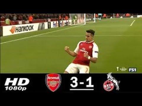 Arsenal Vs Koln 3 1 Extended Highlights Goals Europa League 14 Sep 2017