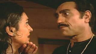 Nutan Begs Amrish for help - Meri Jung Scene