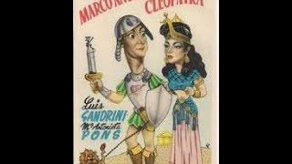 La vida íntima de Marco Antonio y Cleopatra