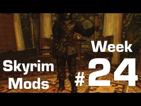 Skyrim Mods Week 24 Ultimate Castle Defense Nights Watch Armor UNP Fitness Body