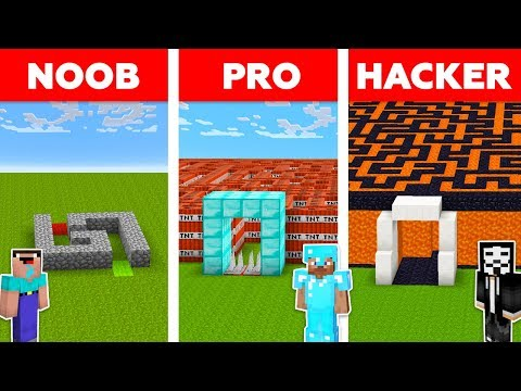 Minecraft NOOB vs PRO vs HACKER : SECRET MAZE TO FAMILY CHALLENGE in minecraft / Animation