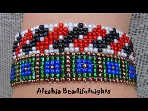 Loom Beaded Bracelet Tutorial