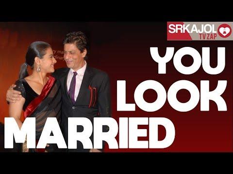 Xxx Mp4 SRKajol TV Zap You Look Married Shah Rukh Khan And Kajol 3gp Sex