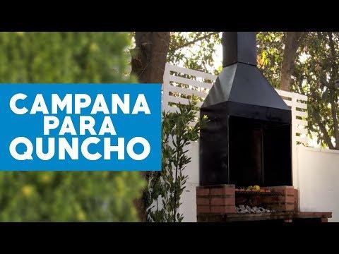 ¿Cómo hacer una campana para el quincho