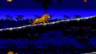 The Lion King Full Playthrough (Sega Genesis)