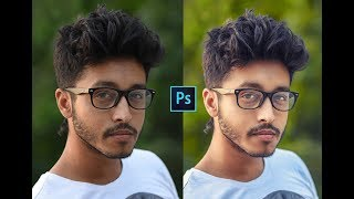 How to Retouch Outdoor Portrait photo | Photoshop Photo Editing Tutorial