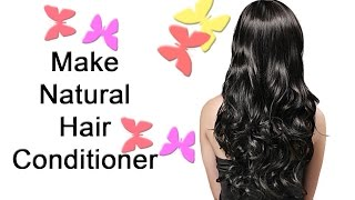 Homemade Natural Hair Conditioner | How To Make Hair Conditioner | Beauty Pageant Ep. 9