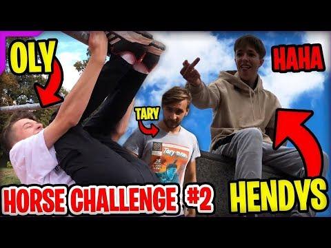Xxx Mp4 PARKOUR HORSE CHALLENGE 2 HENDYS VS OLY 🐴 W Tary 3gp Sex