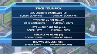 Time to Schein: Week 10 NFL picks