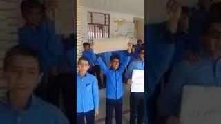 Les étudiants solidaires de la grève nationale des enseignants en Iran