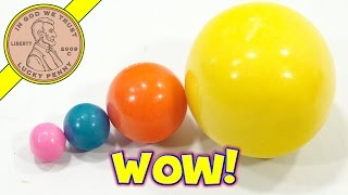 HUGE Dubble Bubble Gumball!  Time To Compare