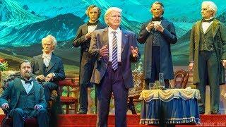 New Hall of Presidents with Donald Trump - FULL SHOW