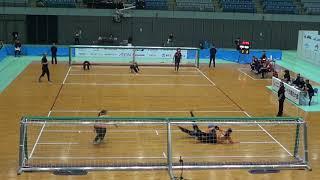 2019 Goalball Japan Para Championships Day 2 Turkey v Japan 1st Half Incomplete