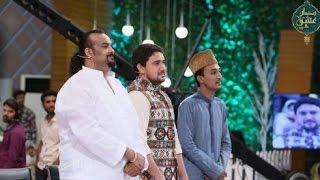 Amjad Sabri Qasida Miracle Hazrat Imam Hussain Rab Jane te Hussain Jane with Farhan Ali Waris
