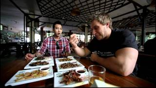Eating Bugs in Thailand | Furious Pete