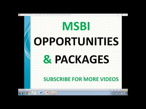 MSBI Opportunities and Packages | MSBI Interview Call