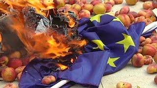 تأثير العقوبات الاقتصادية الروسية على الاتحاد الاوروبي