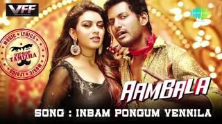 Aambala -  Inbum Pongum Vennila  Vishal, Hansika