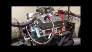505 CID Pontiac warming up