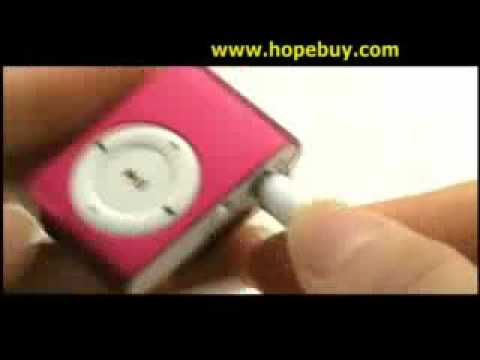 Mini MP3 Multimedia Player Red