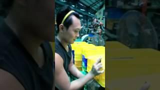 pabrik plastik, membuat keranjang serba guna