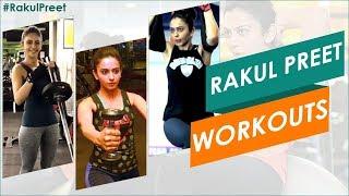 Rakul Preet GYM Workout Video   Rakul Preet Singh Latest Workout Videos   #Rakulpreet