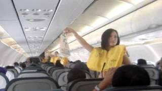 Cebu Pacific FAs dancing