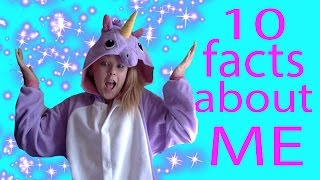 10 facts about me! JoJo