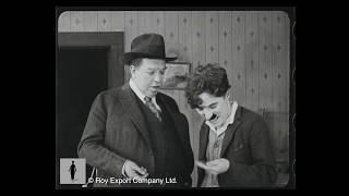 Charlie Chaplin and Irvin Cobb - Rare Archival Footage